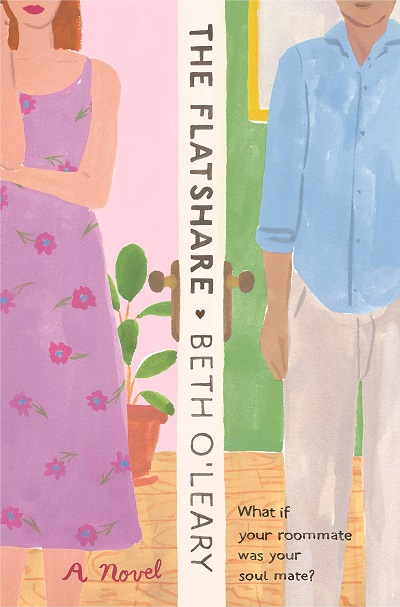 Book Cover of the Flat Share, a contemporary romance, plus romantic comedy by Beth O'Leary.